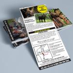 Moose Tours Rack Card Print Design