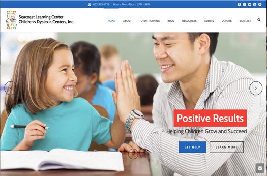 Seacoast Learning Center Website
