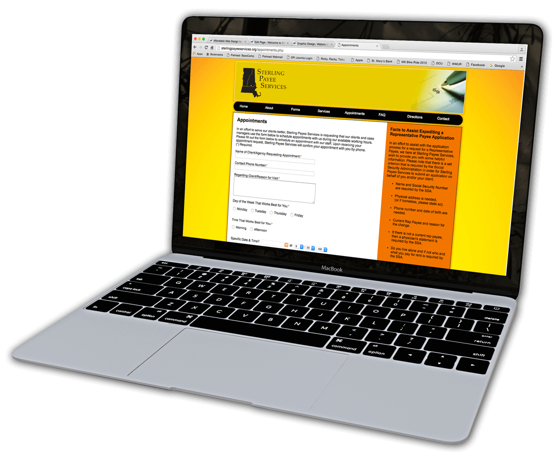 Web Maintenance Plans Landing Page