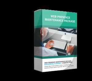 Web Presence Web Maintenance Package