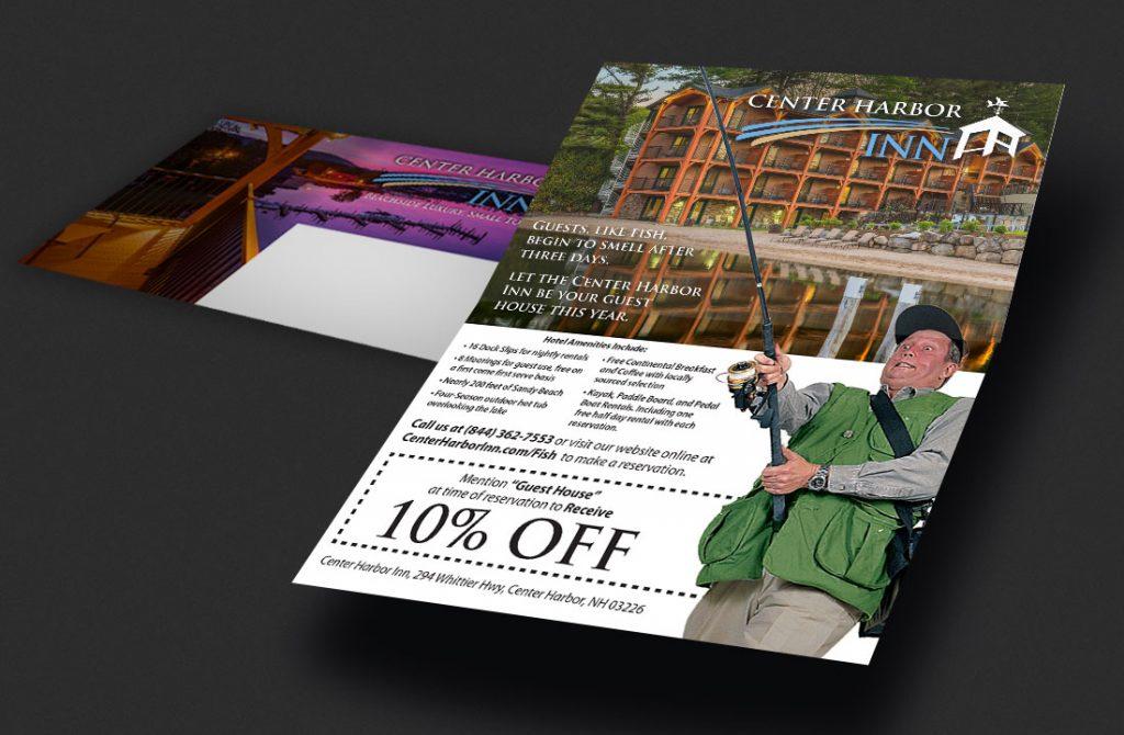 Center Harbor Inn - Print Direct Mailer