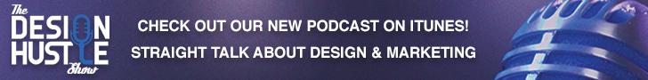 Design Hustle Show Ad - 728x90