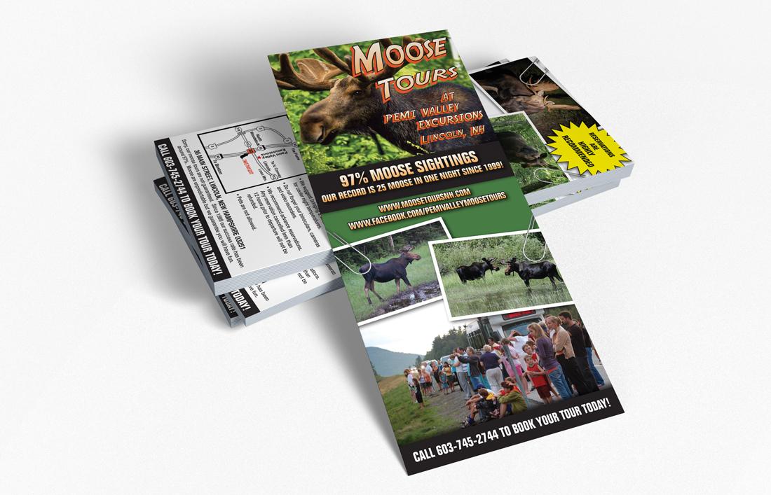 Contact DPi Graphics - Moose Tour Rack Card