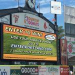 Graphic Design and Digital Marketing - Portland Sea Dogs Scoreboard