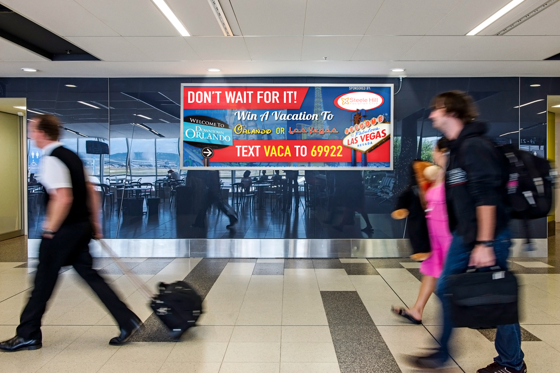 Steele Hill Resorts Manchester-Boston Airport Signage