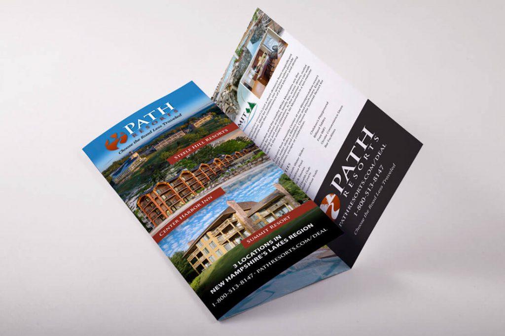 Path Resorts Trifold Brochure