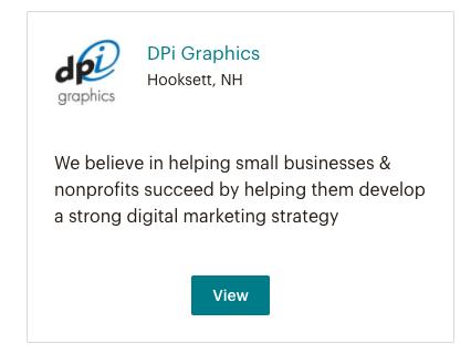 MailChimp Partner Experts Directory Listing for DPi Graphics