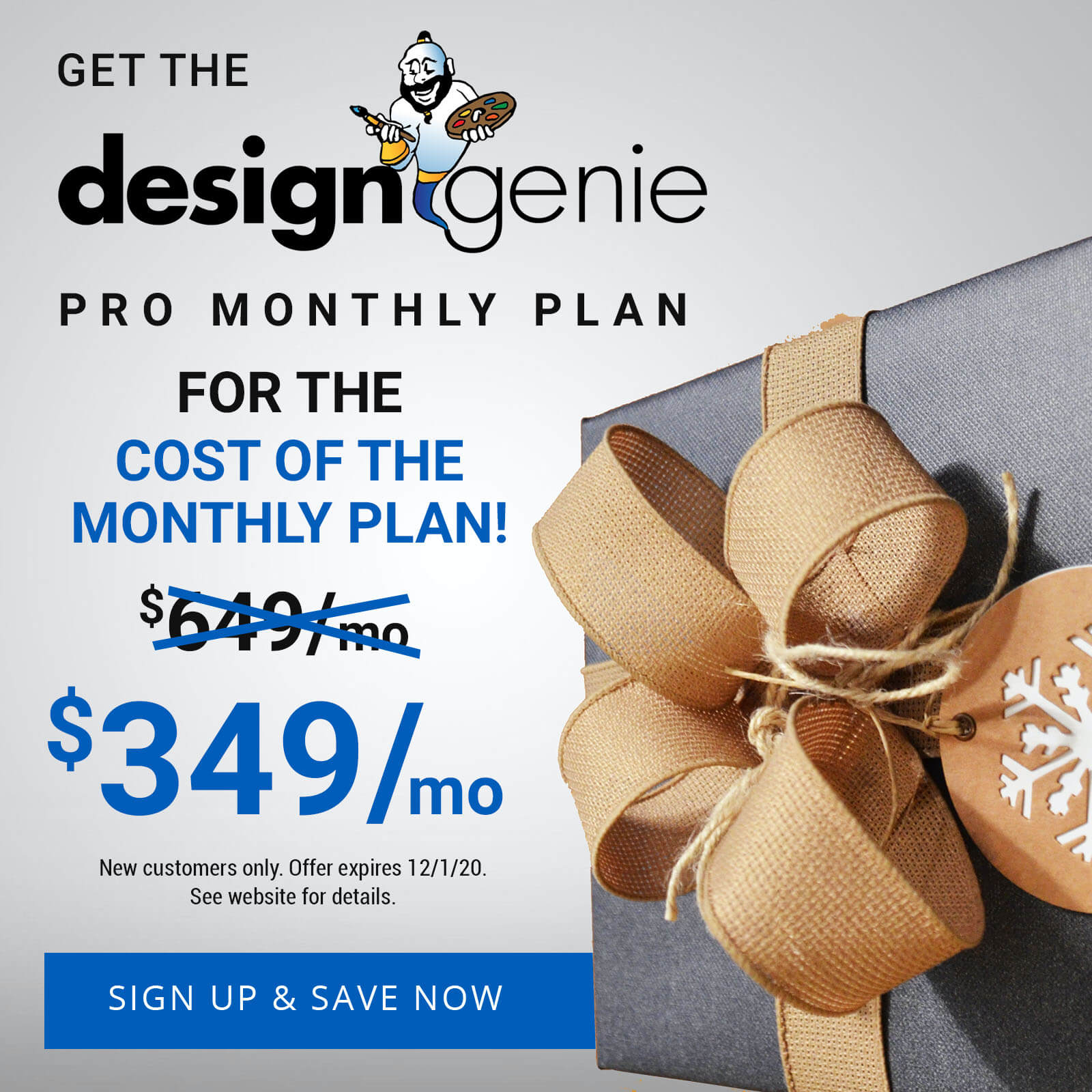 Design Genie Cyber Monday Deal