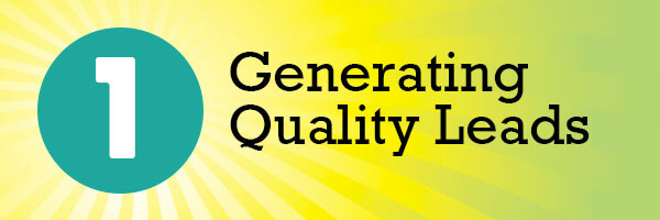 Generating Quality Leads Header
