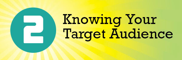 Knowing your target audience header