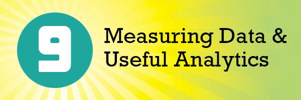 Measuring Data & Useful Analytics header