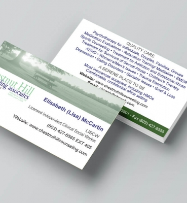 Business cards archives welcome to dpi graphics chestnut hill counseling associates business card colourmoves